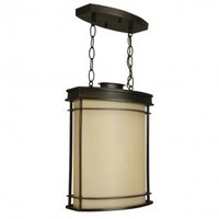 Craftmade Exterior Lighting Vale Outdoor  Pendant in Oiled Bronze - Z4311-92 - Exterior Lighting - Lighting