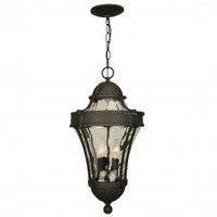 Craftmade Exterior Lighting Parish Outdoor  Pendant in Matte Black - Z4221-05 - Exterior Lighting - Lighting