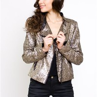 Lovers and Friends Clothing- Wish Sequin Jacket- $200