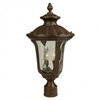 Craftmade Exterior Lighting Sheffield Series Traditional Outdoor Post Lantern in Aged Bronze - Z3525-98 - Exterior Lighting - Lighting