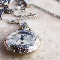 Steampunk Pocket Watch by Aranwen on Etsy