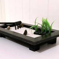 Zen Garden ebony wood by ArtGlamourSligo on Etsy