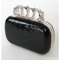 Queen Knuckle Clutch | Sugar and Sequins