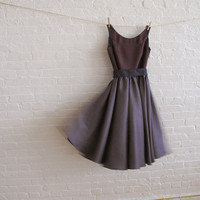 purple haze tea dressfor Teresa by sohomode on Etsy