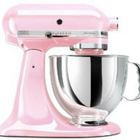 Amazon.com: KitchenAid KSM150PSPK Komen Foundation Artisan Series 5-Quart Mixer, Pink: Kitchen &amp; Dining