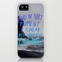 Infinite (The Perks of Being a Wallflower) iPhone Case by Leah Flores | Society6