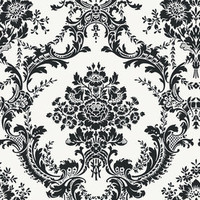 Shop allen + roth Damask Wallpaper at Lowes.com