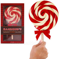 HAMMOND&#x27;S ORIGINAL GIANT PEPPERMINT LOLLIPOP