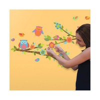 Owls & Branches Wall Stickers