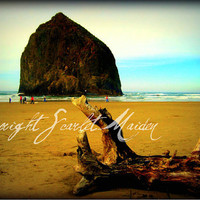 Haystack Rock Fine Art Photograph Print 5x7 by scarletmaiden