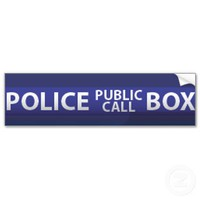 Police Box Bumper Stickers from Zazzle.com