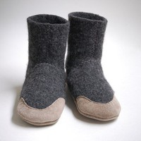 Wool Slipper Socks for Men & Women