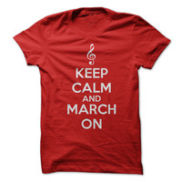 Keep Clam and March On