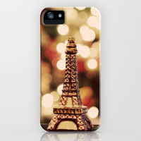 The Eiffel Tower Ornament iPhone Case by Shy Photog | Society6