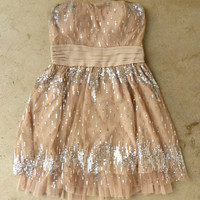 Champagne Fizz Party Dress [3595] - $46.00 : Vintage Inspired Clothing & Affordable Fall Frocks, deloom | Modern. Vintage. Crafted.
