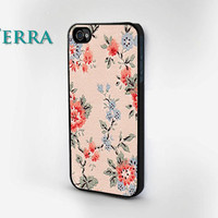 Floral Design  - iphone 5 cases - iphone 4s case - iphone 4 caseCool iPhone Cases- Cool iPhone Cases