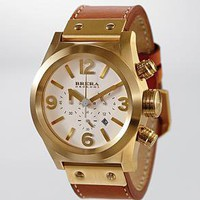 gold BRERA OROLOGI eterno watch from RedEnvelope.com