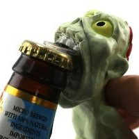 Amazon.com: Zombie Bottle Opener: Kitchen & Dining