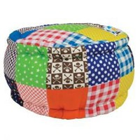 Rice Denmark Mini Patchwork Pouf for Boys : Gifts and Accessories from Scandinavia