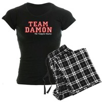 Team Damon Women's Dark Pajamas on CafePress.com