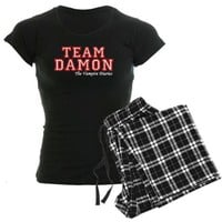 Team Damon Women&#x27;s Dark Pajamas on CafePress.com