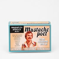 Mustache Magnetic Poetry Kit