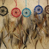 small dream catcher perfect for your car or bed room