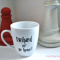 twihard or go home mug