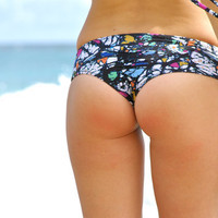 Wailea Scrunch Butt Hipster Bikini Bottoms - Create your Own