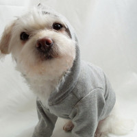 Dog Hoodie or Dog Shirt. Sweatshirt Fleece Dog Hoodie. Several colors available