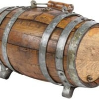 One Kings Lane - Russell Johnson - Vintage Oak Water Barrel