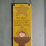 The Word became flesh Christmas Ornament/Wall Hanging - Free U.S. Shipping