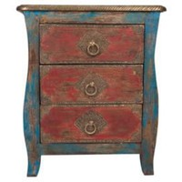 One Kings Lane - Seven Veils - 3-Drawer Bedside Table