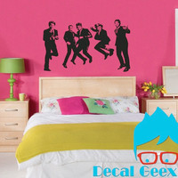 One Direction Fab 5 -- 1D Vinyl Decal (X-Large)