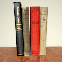 Vintage Book Collection from 1920's to 1940's