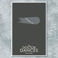 Doctor Who Poster The Doctor Dances 11x17 by ModernStylographer