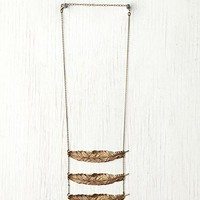 Free People Feather Breastplate Necklace