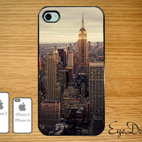 New York Sky View IPhone 5 Case, IPhone 4s Case, IPhone 4 Case