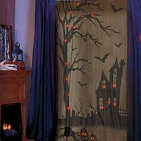 Lighted Halloween Curtain|ABC Distributing