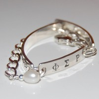 Simply beautiful silver greek bracelet by TheSilverArtisan on Etsy