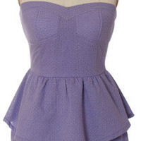 Trendy and Cute dresses - Hot &amp; Delicious - Lavender Peplum Dress - chloelovescharlie.com | &amp;#36;47.00