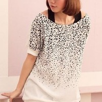Casual Style Loose Cotton Long Junior T-shirts : Yoco-fashion.com