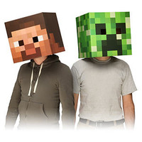 Minecraft Masks - Steve