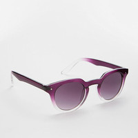Fade Out Round Sunglasses