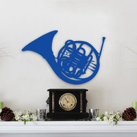 How I Met Your Mother Blue French Horn Wall Art