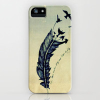 Feather iPhone Case by LMMM | Society6