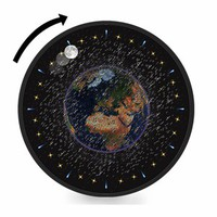 Junk Space Ball Clock