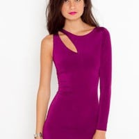 Sliced Dress - NASTY GAL