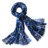 Target : Mossimo Skull Scarf - Blue : Image Zoom