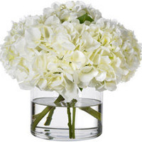 Heavenly White Hydrangeas || Diane James Home